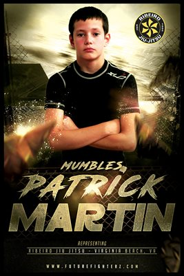 Patrick Martin Gold Poster