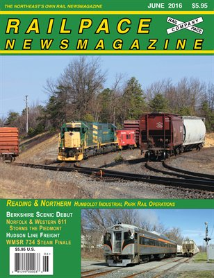 JUNE 2016 Railpace Newsmagazine