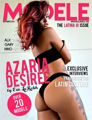 Model Modele Presents The Latina III Issue - Azaria Desiree