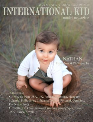 International Kid Model Magazine Issue 29, Babies & Toddlers