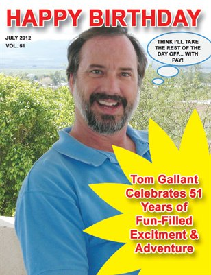 Tom's 51st Birthday