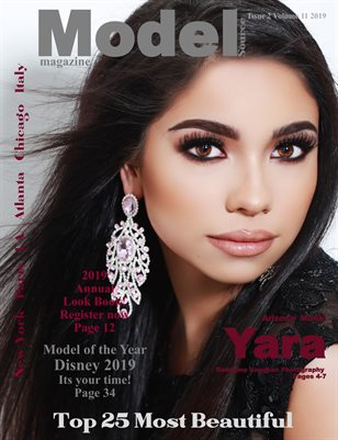 Model Source magazine 25 Most Beautiful Issue 2 Volume 11 2019