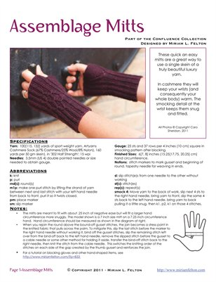Assemblage Mitts