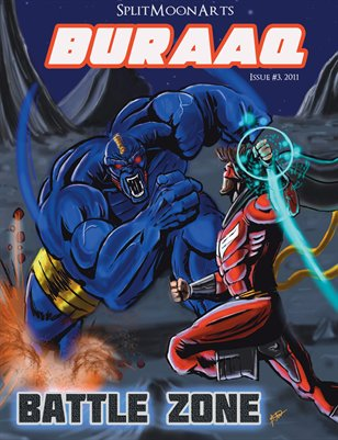 "BURAAQ - Issue #3 - ""BATTLE ZONE"""