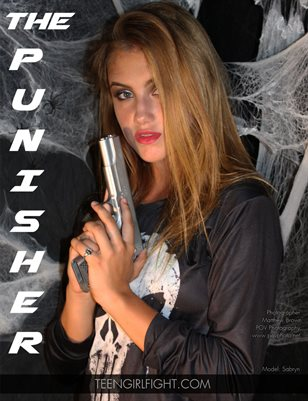 Sabryn as The Punisher | Teen Girl Fight