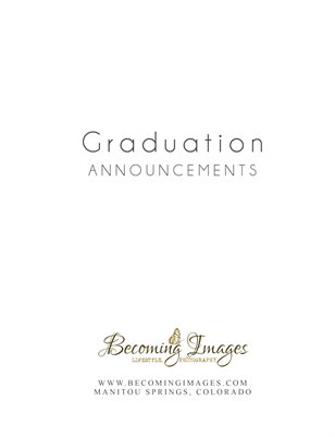 Grad Announcements