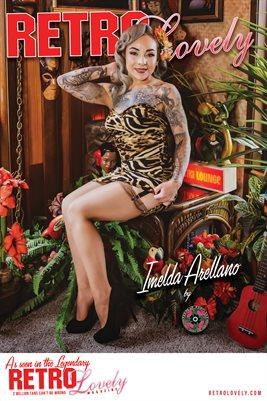 Retro Lovely No.63 – Imelda Arellano Cover Poster