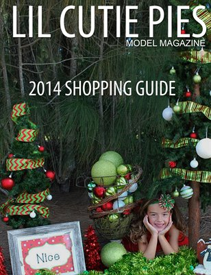 Lil Cutie Pies Model Magazine 2014 Shopping Guide