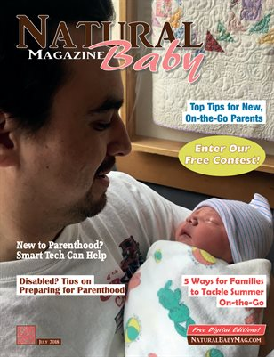 Natural Baby Magazine July 2018