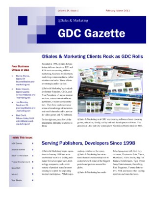 2011 GDC Gazette