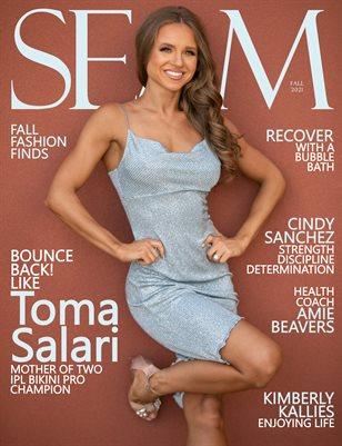 SEAM Magazine Issue #9 - Fall 2021 - Cover: Toma Salari