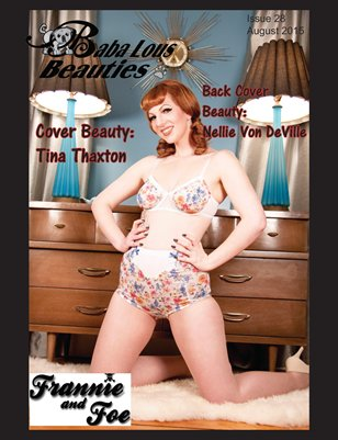 Baba Lous Beauties- Anything Pin Up Issue 28: August 2015