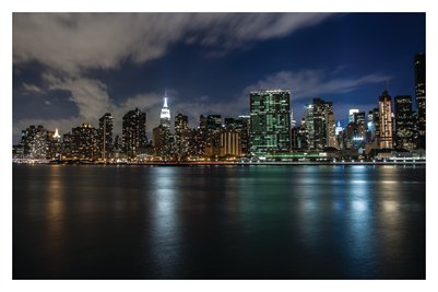 Manhattan Skyline (Poster)