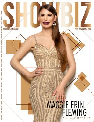 SHOWBIZ Magazine - MAGGIE ERIN FLEMING - Issue #20