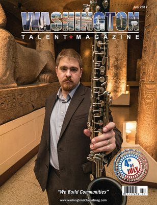 Washington DC Talent Magazine July 2107 Edition