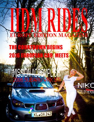 IIDM RIDES Europe Edition Magazine Feb 2016