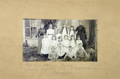 Sept. 1, 1890, Miss Lara & Nannie Dodd's Private School, Davidson County, Tenneessee