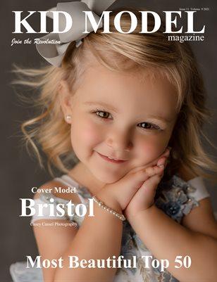 Kid Model Magazine Issue 11 Volume 9 2021 Most Beautiful Top 50