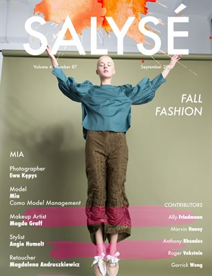 SALYSÉ Magazine | Vol 4 : No 87 | September 2018