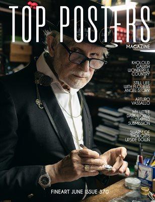 TOP POSTERS MAGAZINE - FINEART JUNE (Vol 370)