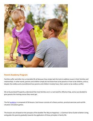 Meir Ezra - Parent Academy Program