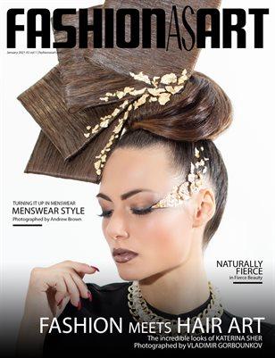 Fashion As Art - January 2021 #3 Vol 1