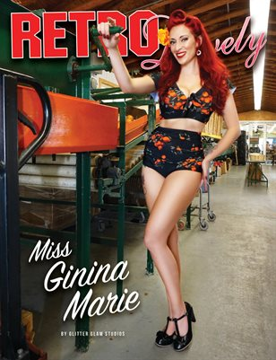 Retro Lovely No.150 – Miss Ginina Marie Cover
