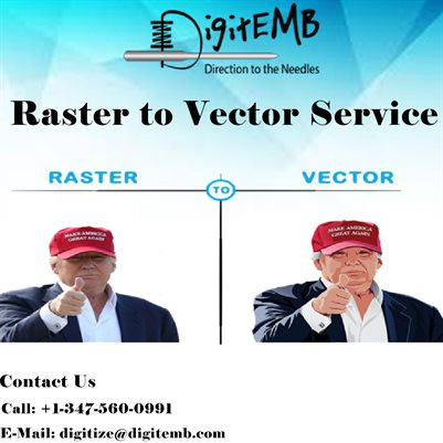 Raster to Vector Service