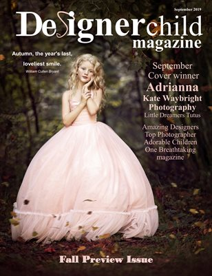 Designer Child magazine September 2019