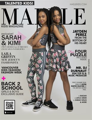 Maelle Kids Magazine Issue #5 Sarah and Kimi