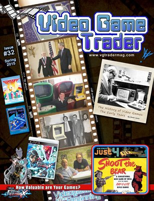 Video Game Trader #32 (Spring 2015) w/Price Guide