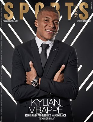 SPORTS MODE Magazine - Kylian Mbappé - April/2020 - Issue #1