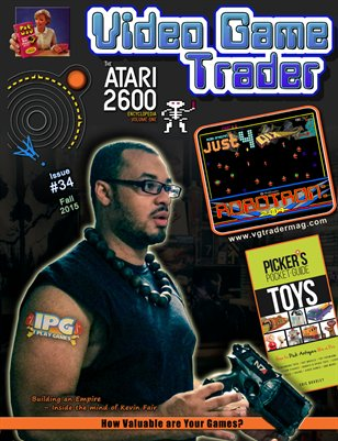 Video Game Trader #34 (Fall 2015) w/Price Guide