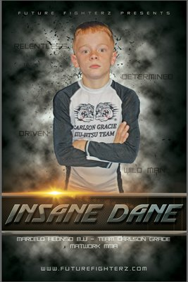 Insane Dane Poster