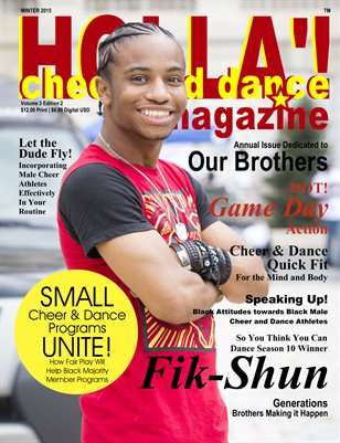 HOLLA'! Cheer and Dance Magazine Winter 2015 Issue