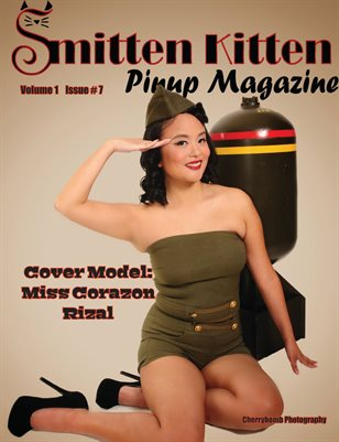 Smitten Kitten Pinup Magazine Cover 4 Miss Corazon Rizal July 2020 Issue