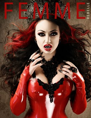 Femme Rebelle Magazine OCTOBER 2017 Book 3 - Dani Divine Cover
