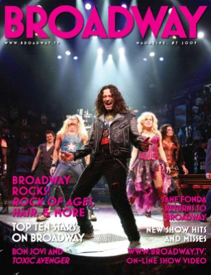 Broadway Rocks: Rock of Ages Cover Issue
