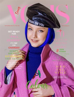 VOUS Magazine | The September Teen Edition | Vol.7 | 2021