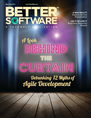 Better Software Magazine May/June 2013