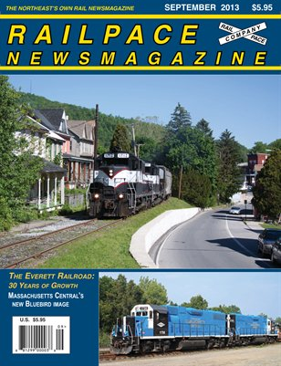September 2013 Railpace Newsmagazine