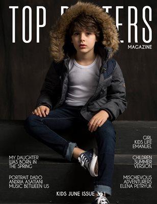 TOP POSTERS MAGAZINE- KIDS JUNE (Vol 361)