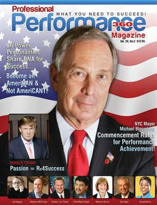 Michael Bloomberg/Chief Black Eagle Edition - PERFORMANCE 360 V. 20, I. 2