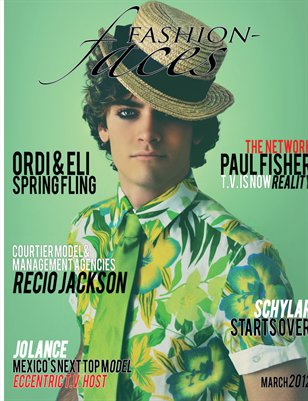 Fashion-Faces Magazine Issue 2 March 2012