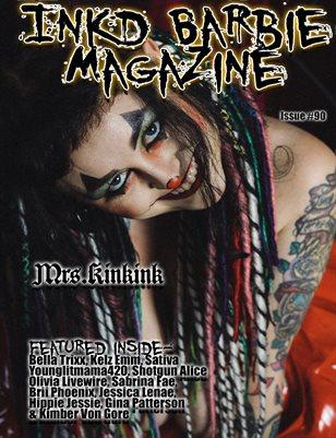 Inkd Barbie Magazine Issue #90 - Mrs.Kinkink