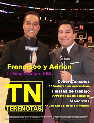 Francisco y Adrian... Somos Lakers NBA