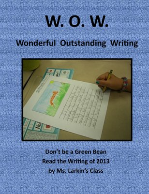 Ms. Larkin's Class Wonderful Outstanding Writing
