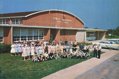 "CLASS OF 1964, SOUTH MARSHALL ""REBELS"", MARSHALL COUNTY, KENTUCKY"