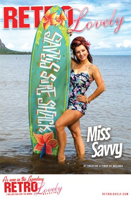 Miss Savvy Cover Poster
