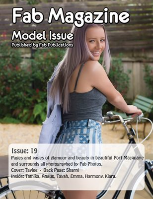 Fab Magazine Model Issue 19